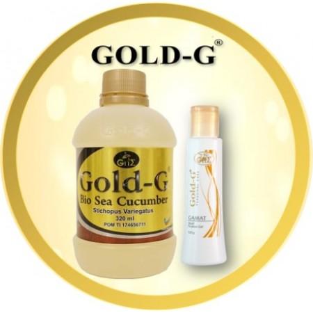 Gold-G<sup>®</sup> Bio Sea Cucumber Jelly 320ml & Gamat Multi Purpose Gel 100gr