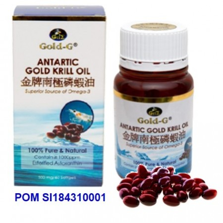 GOLD-G<sup>®</sup> Antartic Gold Krill Oil